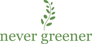 Never greener logo 2015